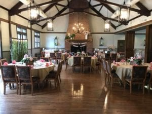 Client event at Meadowbrook Country Club