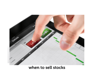 person selling stocks