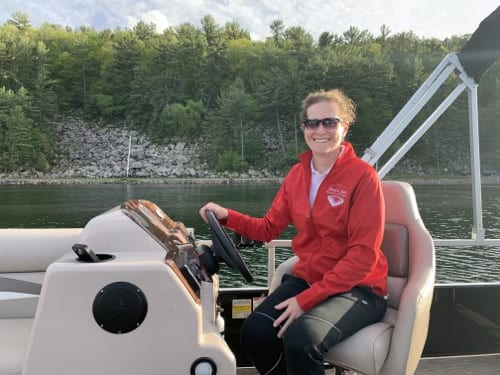 Tour Boat Captain Katy Carter