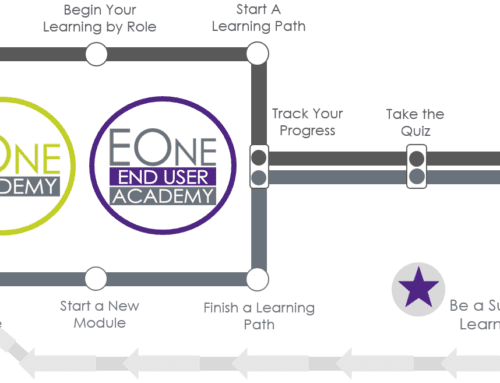 New Courses in the End User Academy and EOne Academy