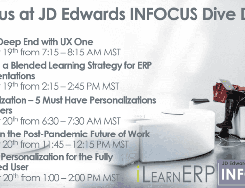 Where Will We Be at JD Edwards INFOCUS Dive Deep